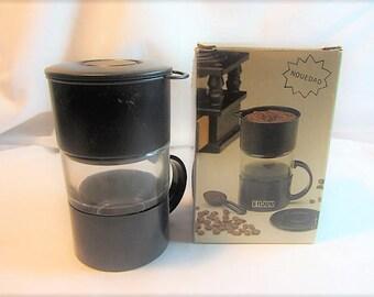 Vintage ENJOY Coffee Maker for Single Cup Coffee Or Tea, Individual Coffee Maker, Microwave Coffee Maker For Individual Cup, Tea Maker