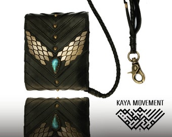 AYA Wallet with chain card cash and money keeper
