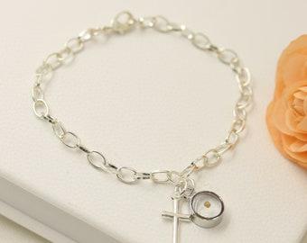 Mustard Seed Bracelet - Faith Bracelet - Inspirational Jewelry - Faith as small as a mustard seed - mustard seed jewelry - Matthew 17:20