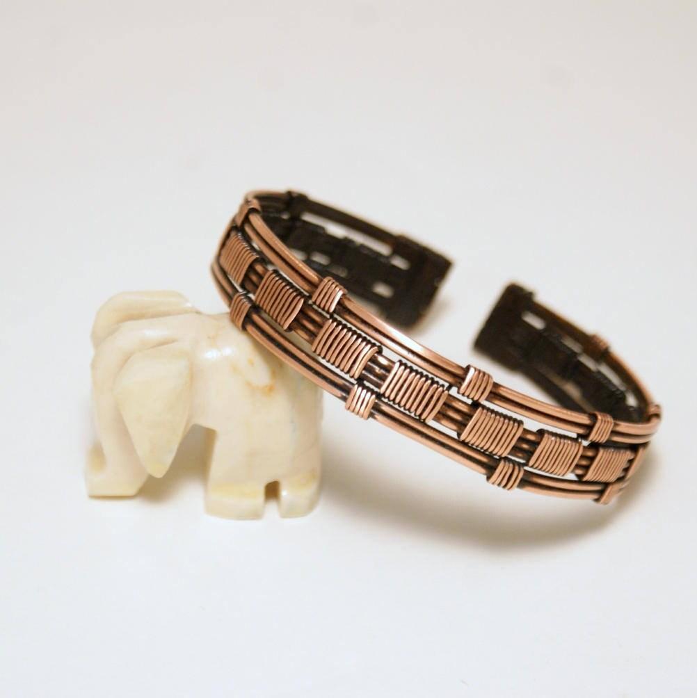 Herren Armband Kupfer / Herren Armband / Herrenschmuck / Draht