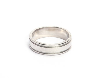 Handmade ring 925 sterling silver plain ring