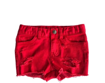Candy Apple Red Shorties