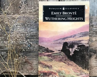 Vintage Wuthering Heights by Emily Bronte in paperback