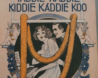 Antique Sheet Music Yaddie Kaddie Kiddie Kaddie Koo 1916