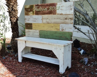 Farmhouse Furniture, Farmhouse Bench, Wooden Bench, Entryway Bench, Indoor Bench, Rustic Bench, Wood Seating, Table Bench, Custom Bench