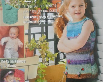 """Ideas baby stitch"" magazine for sunny days"