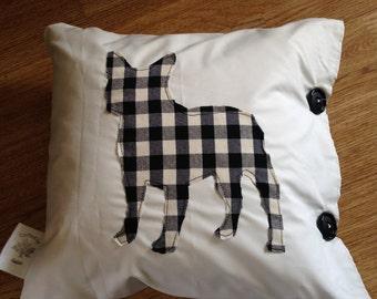 Frenchie cushion