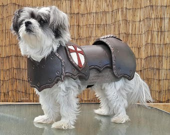 Pet costumes etsy cosplay diy prop basic dog armour costume pattern template for eva foam small dog size solutioingenieria Image collections