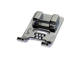 5 hole cording presser foot for most domestic low shank sewing machines