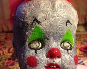 21 inch Ooak Creepy Clown Doll