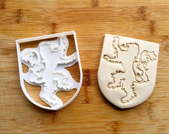 Game of Thrones Cookie Cutter - Lannister Sigil