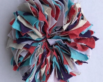 Cotton Scrunchie- P/T/P/W/C