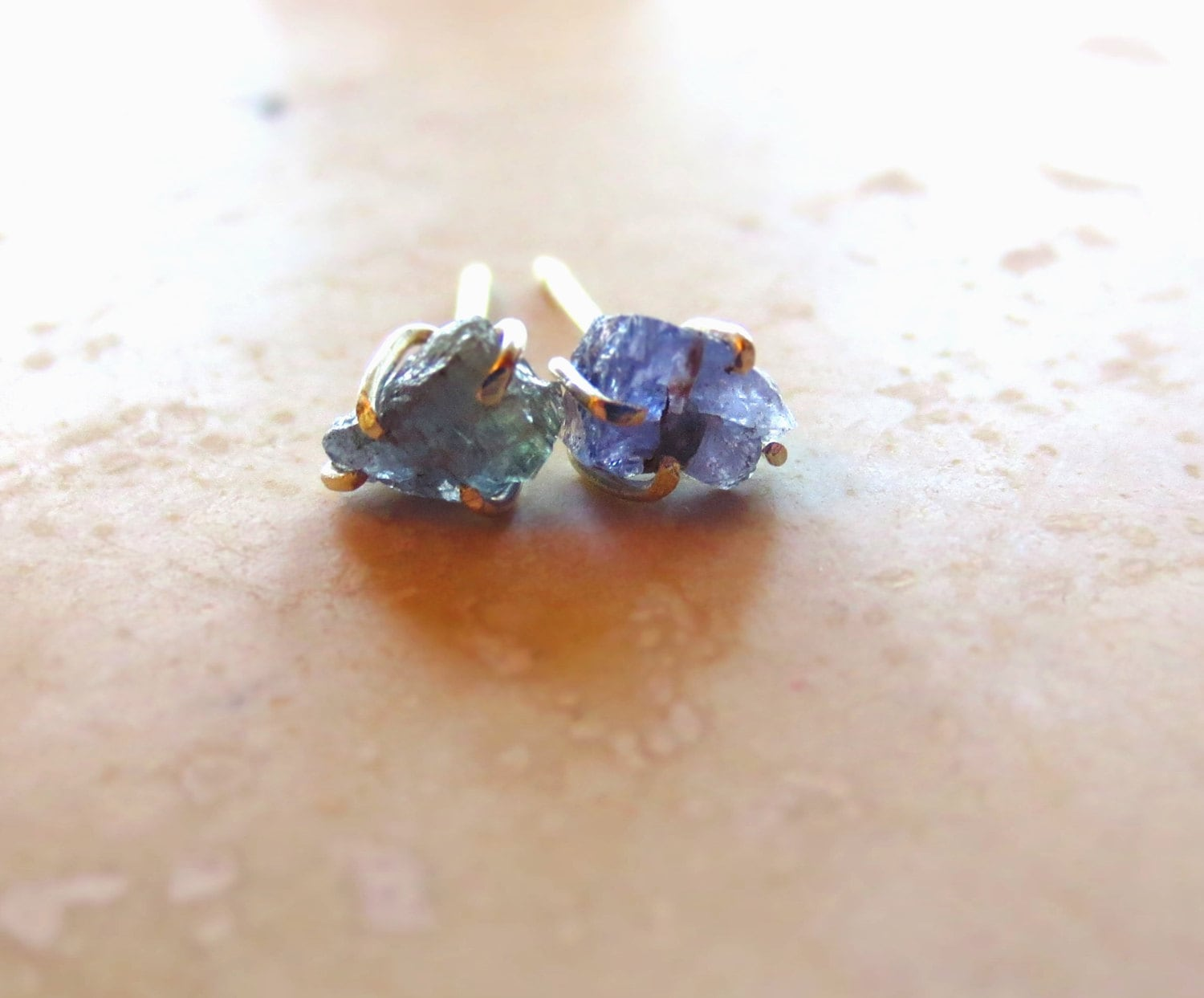 gold by stud gg white gems latest deals cttw earrings muiblu in tanzanite