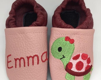 Leather slippers, crawling shoes, baby shoes