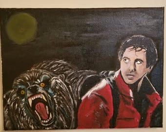 An American Werewolf in London David