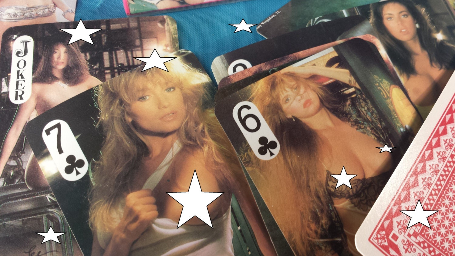 Get down 80s nude playing cards vintage nos dead stock naught zoom kristyandbryce Images