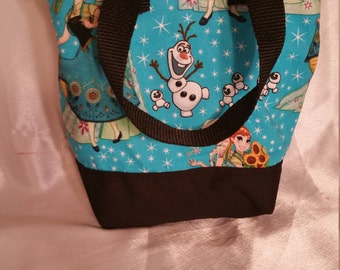 Frozen fever Insulated Zip-up Lunch bag  KID SIZED