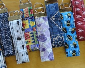 Key Fobs, Fabric Key Fobs, Luggage ID Strap, Wristlet Key Fob, Camera Strap, Key Ring, Flash Drive Fob, Key Strap, Silver Key Fob Hardware