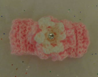 "Special Spring Sale ""Newborns, & Toddlers Crohet Headband Flowers"""
