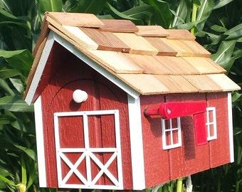Traditional Mailbox Dutch Barn - Amish Made **FREE shipping**