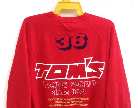 Team Size Motorsports Sweater And TRD Toyota Jacket Rare Racing Tuner Sweatshirt Medium Tom's nSqPxgCwI1