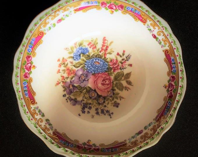 Fine porcelain dessert bowl of Limoges