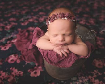 Posing fabric, Beanbag fabric, Floral fabric, Newborn posing fabric, Newborn photo prop, Newborn backdrop, Baby posing fabric, Backdrop