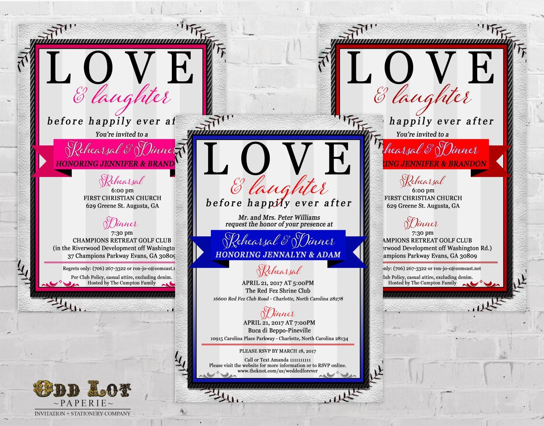 Famous Sports Themed Wedding Invitations Model - The Wedding Ideas ...