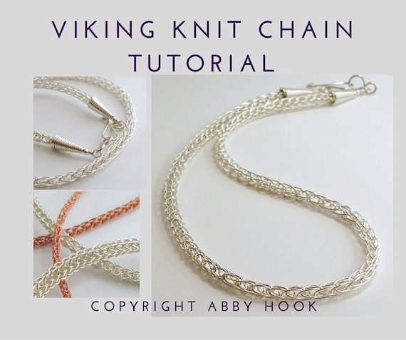 Wire Knit Necklace Pattern Wire Center