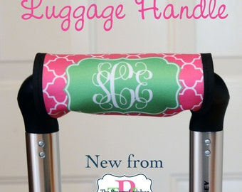 Monogrammed Luggage Handle - Design Your Own