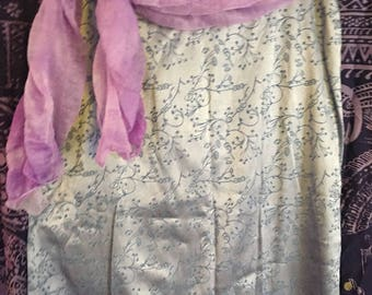 Lavender Blue Skirt/by Express/Stretchy Sheen/Size 7/8
