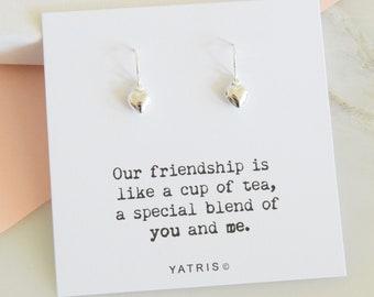Friendship Gift - Best Friend Gift - Friendship Earrings - Friend Gift - Gift For Friend - Friend Gifts