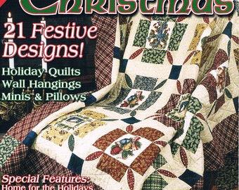 Quilting per Natale rivista inverno 2003