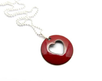venetian jkc silver glass red grande genuine deep sterling jewelry bail murano pendant products heart