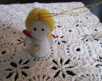 A little Christmas angel ornament