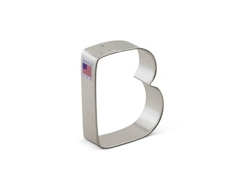 Letter B Cookie Cutter, Baking and Candy Making, Bakeware, Cookie Cutters