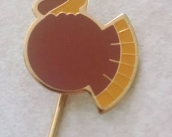 Turkey Stick Pin, Gifts Under 5.00, Stick Pins,Thanksgiving Pins, Hat Pins, Brooches, Pins,Vintage Jewelry, Accessories,Turkey Pin, Anyone