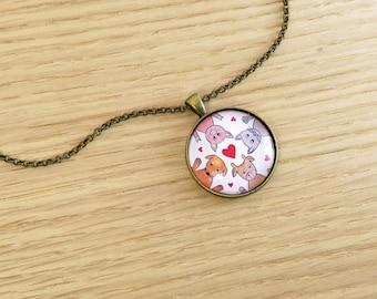 Vegan Pendant, True Vegan Necklace, Save Animals, Cruelty Free Jewelry, Vegan Jewelry