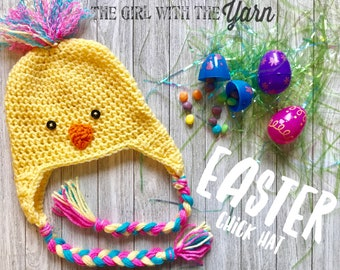 Easter Chick Hat