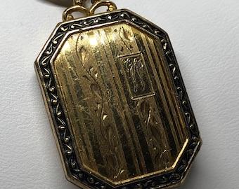 Vintage GF Locket and Necklace