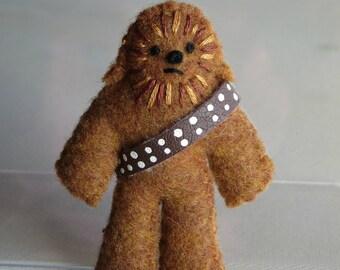 Wookie  miniature stuffed animal Chewbacca Star Wars character