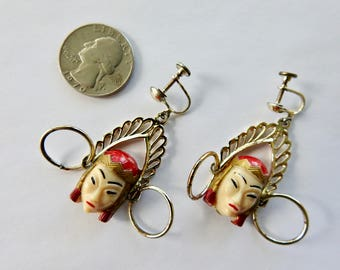 Selro Sellini Asian Princess Earrings