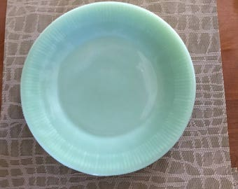 4 FIre King Jane Ray Dinner Plates