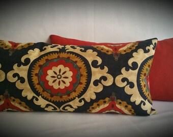 Decorative Pillows:  Pimento Medallion