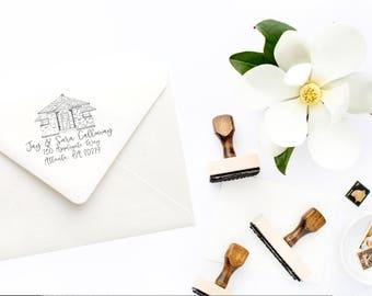 Custom Home Stamp