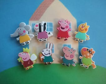 Peppa Pig Mini Magnets **Fun Gift Idea**