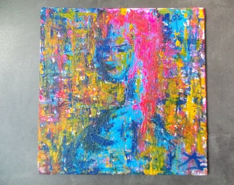 "Original artwork AJE ""#157 or avatar"""