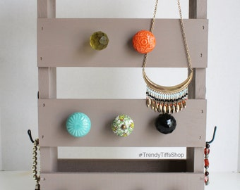 Hazel Color Jewelry Organizer