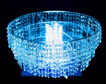 Lighted Crystal BDazzle cake stand