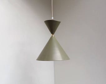 Extremely Rare Pendant From Lyfa Probably Designed By Bent Karlby Danish Vintage Lighting The